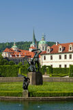 Prague, valdstejnska garden Royalty Free Stock Images