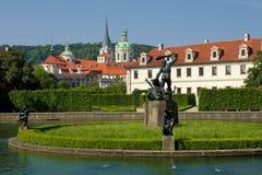 Prague, valdstejnska garden Royalty Free Stock Photos