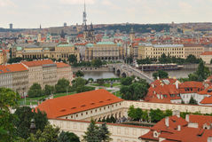 Prague View Stock Photo