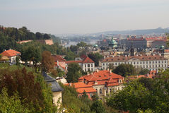 Prague view from above. Stock Images