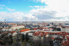 Prague view Stock Photos