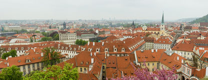 Prague. View of the center of Prague, Czech Republic Royalty Free Stock Images