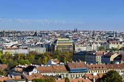 Prague view. City ​​view from the Prague Castle Stock Photo
