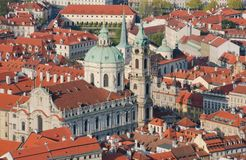 Prague. View of the Lesser Royalty Free Stock Photos