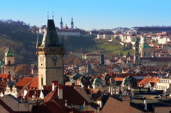 View over Prague, Czech Republic Royalty Free Stock Image