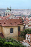 Prague. View from the Prague Castle Stock Image