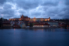 Prague. View on St.Vit cathedral Royalty Free Stock Photos