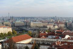 Prague. Views of the City Royalty Free Stock Photography