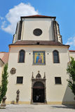 Prague. Virgin Mary Snow church Royalty Free Stock Photography
