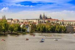 Prague Vista Czechia Royalty Free Stock Photos