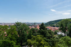 Prague vista in the summer Royalty Free Stock Photography