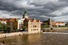 Prague. Vltava Royalty Free Stock Photography
