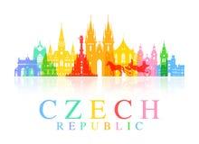 Prague, voyage de République Tchèque Images libres de droits