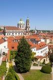 Prague vrtba garden (vrtbovska zahrada) Stock Image