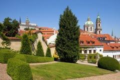 Prague vrtba garden (vrtbovska zahrada) Royalty Free Stock Image