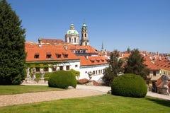Prague vrtba garden (vrtbovska zahrada) Royalty Free Stock Photos
