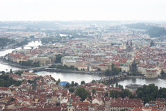 Prague. Vue panoramique de Staré M?sto photo stock