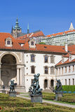 Prague, wallenstein garden Stock Photography