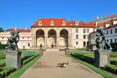 Prague. Wallenstein Palace Royalty Free Stock Image