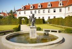 Prague, Wallenstein Palace Garden Stock Image