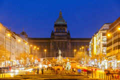 Prague. Wenceslas Square Royalty Free Stock Image
