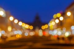 Prague. Wenceslas Square Stock Images