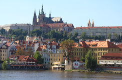 prague widok Obrazy Royalty Free