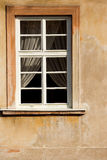 Prague window Royalty Free Stock Photography