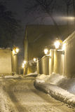 Prague in winter Royalty Free Stock Photo