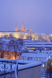 Prague in winter Stock Photos