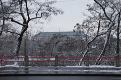 Prague in winter time Stock Photography