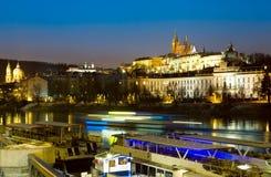 Prague at winter time Royalty Free Stock Image