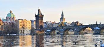 Prague wonderful city. Charles bridge Royalty Free Stock Image
