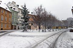 prague zima Zdjęcie Stock
