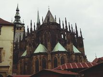 PragueCastle royalty-vrije stock afbeeldingen