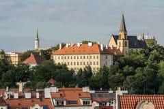 Praha,捷克共和国 免版税库存照片