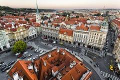 Praha Arkivfoto