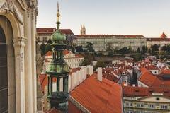 Praha Arkivfoton