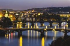 Praha Royaltyfri Foto