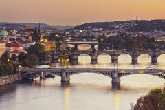 Praha Royaltyfria Foton