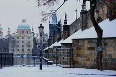 Praha Arkivbilder