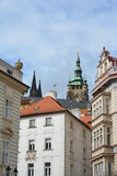 Praha buildings and towers of St Vitus Cathedral Royalty Free Stock Image