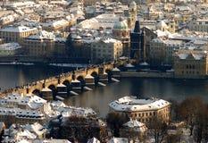 Praha - centro histórico fotografia de stock
