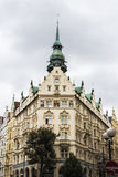 Praha city / Buildings stock image
