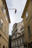 Praha city / Umbrella Stock Photo