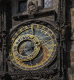 Praha,CZ. Astronomic clock of Prague,CZ eastern Europe royalty free stock photography