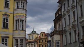 Praha gator Arkivbilder