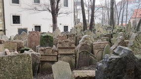Praha , The Jewish Cementary Stock Photos