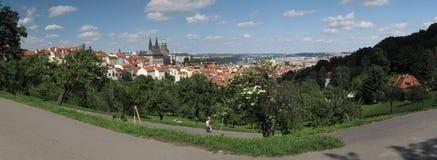 Praha from Petrin Stock Photo