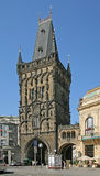 Praha - porte 02 de poudre Images stock